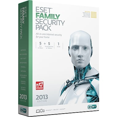 ESET Family Security Pack V6 5+5 [Boxed]