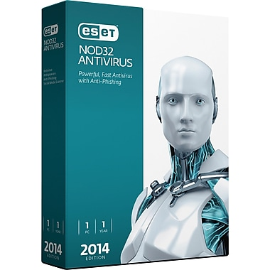 ESET NOD32 Antivirus V.7 2014 Edition (1 User) [Boxed]