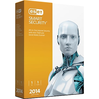 ESET Smart Security V.7 2014 Edition (1 User) [Boxed]