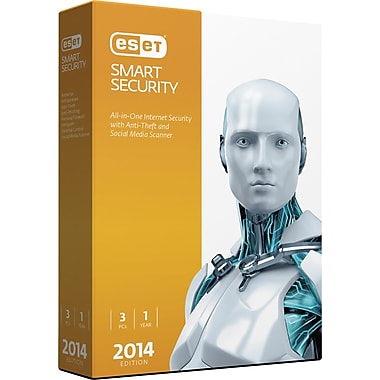 ESET Smart Security V.7 2014 Edition (3 User) [Boxed]