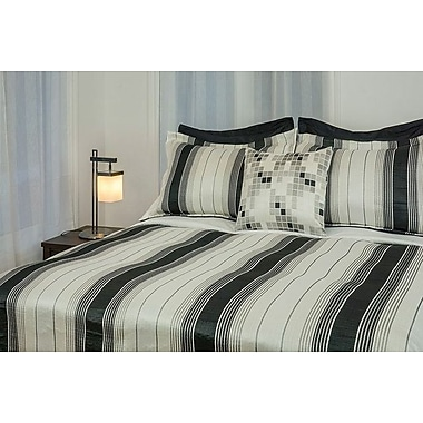 Theo Reversible Bedspread with 2 Shams, Double