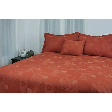 Chéné-Sasseville Victoria Bedspread with 2 Shams, Double