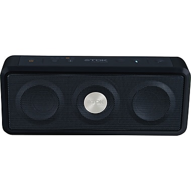 TDK 75000037301 Life on Record A33 Bluetooth Weatherproof Speaker, Black