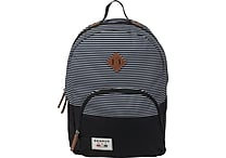 Benrus American Heritage Bulldog Backpack, Navy Stripe