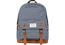Benrus American Heritage Cavalry Backpack, Navy Stripe