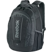 Reebok Big Gulp Laptop Backpack, 17 Laptop, Purple/ Yellow