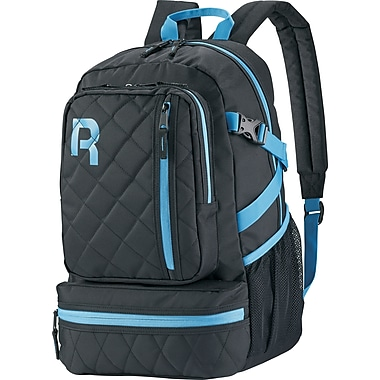 Reebok Razzel Dazzle Backpack, 15.6 in. laptop, Black/Blue