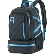 Reebok Razzel Dazzle Backpack, 15.6  laptop, Black/Blue
