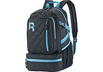 Reebok Razzel Dazzle Backpack, 15.6 ' laptop, Black/Blue