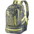 Reebok Razzel Dazzle Backpack, 15.6 in. laptop, Black/Hasmet/Yellow