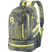 Reebok Razzel Dazzle Backpack, 15.6  laptop, Black/Hasmet/Yellow