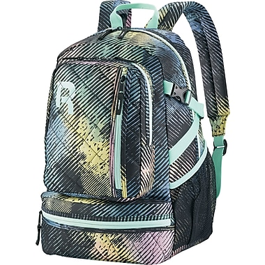 Reebok Razzel Dazzle Backpack, 15.6 in. laptop, Pastel Ombre