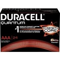 24-Pack Duracell MX2400BKD09 AAA Alkaline Batteries