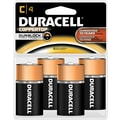 Duracell C Alkaline Batteries, 4/Pack