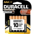 Duracell AAA Alkaline Batteries, 12/Pack