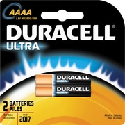 Duracell MX2500 Ultra AAAA Batteries, 2/Pack (MX2500B2PK)