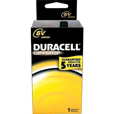 Duracell MN908 6-Volt Alkaline Batteries