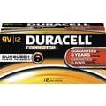 Duracell 9-Volt Alkaline Batteries, 72/Pack