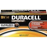 Duracell 9-Volt Alkaline Batteries, 72 Batteries/Pack