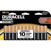Duracell Coppertop Alkaline Batteries 24/Pack, AAA  or AA