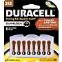 Duracell Button Cell Lithium Battery, #312, 8/pk