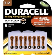 Duracell Button Cell Lithium Battery #312 8/Pack (DA312B8ZM09)