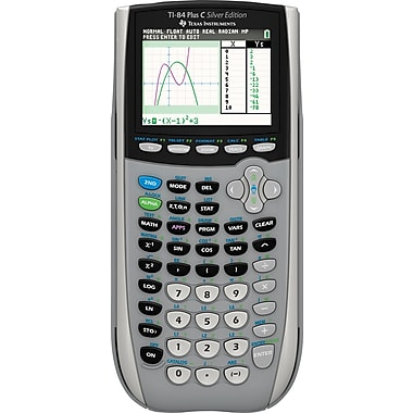 Texas Instruments® TI-SEC84+ Color Screen Graphing Calculator- Silver