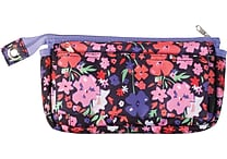 Teen Vogue Fashion Pencil Pouch, Black Floral