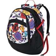 High Sierra Fat Boy Backpack, Flower Pop Black Crimson