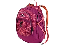 High Sierra Fat Boy Daypack, Crochet Boysenberry Coral