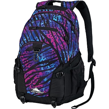 High Sierra Loop Backpack, Wild Thing Black