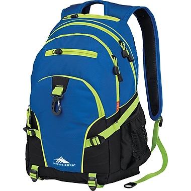 High Sierra Loop Backpack,Royal Cobalt/Black Chartruese