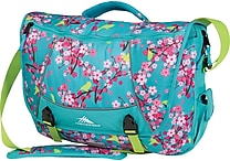 High Sierra Tank Messenger, Teal Birds & Blossom