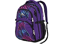 High Sierra Swerve Backpack,Deep Purple/Wild Thing