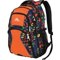 High Sierra Swerve Backpack. Orange Cube Climb