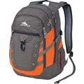 High Sierra Tactic Backpack, Charcoal/Orange/Ash
