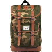 Benrus American Heritage Scout Backpack, Green Camo