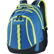 Reebok Thunderchief Backpack, 15.6 laptop/H20 Hydration System, Blue/Yellow