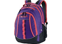 Reebok Thunderchief Backpack, 15.6' laptop/H20 Hydration System, Purple/Pink