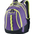 Reebok Thunderchief Backpack, 15.6in. laptop/H20 Hydration System,  Purple/Yellow
