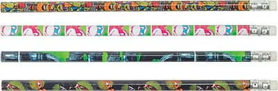 Staples Nickelodeon Teenage Mutant Ninja Turtles Wrapped Wooden Pencil Each 26110