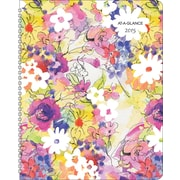 AT-A-GLANCE® Secret Garden Weekly/Monthly Planner, 8 1/2 x 11, 2015