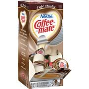 Nestlé® Coffee-mate® Liquid Coffee Creamer Singles, Café Mocha, 50/Box