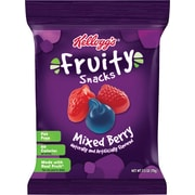 Kellogg's®  Mixed Berry Fruity Snacks, 2.5 oz. Bags, 48 Bags/Box