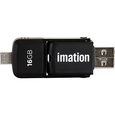 Imation 2-in-1 16GB Micro Flash Drive for Android