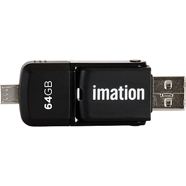 Imation 2-in-1 64GB Micro Flash Drive for Android