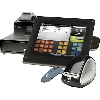 ShopKeep POS Hardware and Software Essentials - Retail Bundle for iPad 4