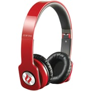 Noontec Zoro HD True Sound Headphones with Inline Mic and Answer/End Button, Red