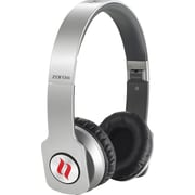 Noontec Zoro HD True Sound Headphones with Inline Mic and Answer/End Button, Silver