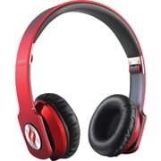 Noontec Zoro Professional Steel Reinforced SCCB Sound Technology Headphones, Red